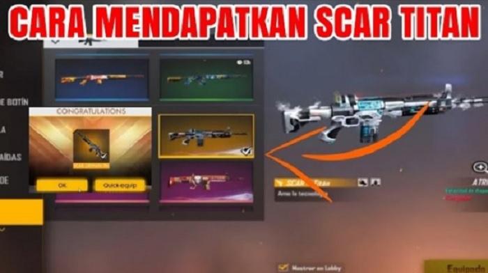 eventff getsviip7 com Event FF Gratis Scar Titan Terbaru 2020