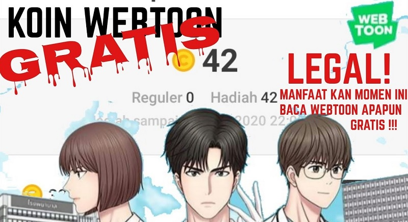 Kode Promosi Webtoon Oktober 2020 Terbaru