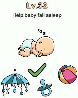 Bujuk Bayi Agar Mau Tidur Brain Out