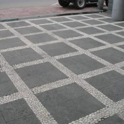 batu alam carport